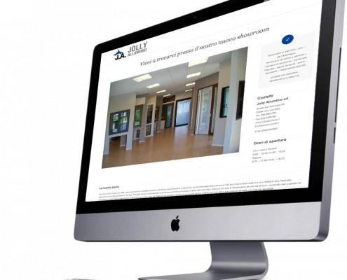 nuovo sito web jolly alluminio