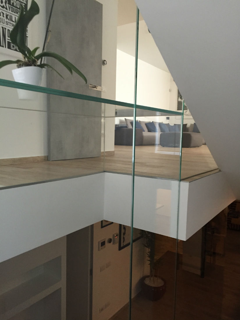 scala vetro extrachiaro